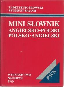 náhled knihy - Mini slownik angielsko-polski polsko-angielski
