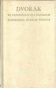 náhled knihy - Dvořák ve vzpomínkách a dopisech