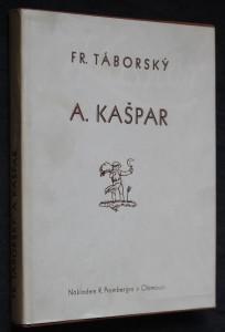 náhled knihy - A. Kašpar, ilustrátor, malíř, grafik