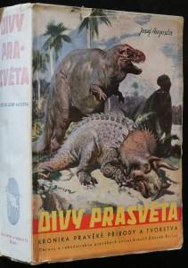 náhled knihy - Divy prasvěta : kronika pravěké přírody a tvorstva