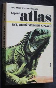 náhled knihy - Kapesní atlas ryb, obojživelníků a plazů