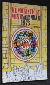náhled knihy - Humoristický minikalendář 1973