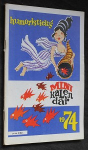náhled knihy - Humoristický minikalendář 1974