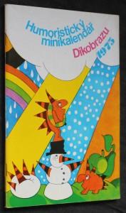 náhled knihy - Humoristický minikalendář Dikobrazu 1975