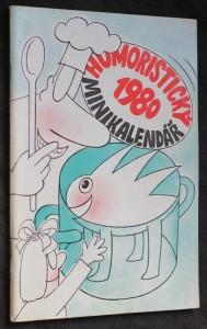 náhled knihy - Humoristický minikalendář Dikobrazu 1980
