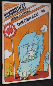 náhled knihy - Humoristický minikalendář Dikobrazu 1984