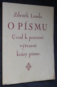 náhled knihy - O písmu : úvod k poznání výtvarné krásy písma