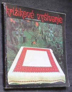 náhled knihy - Križikové vyšívanie