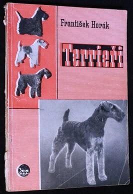 náhled knihy - Terrieři - původ, standardy, ošetřování a použití