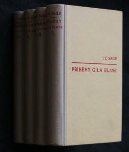 náhled knihy - Příběhy Gila Blase ze Santillany. 4 vazky. Kniha 1.-12.