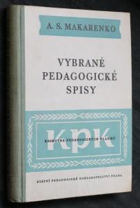 náhled knihy - Vybrané pedagogické spisy : Články, přednášky, projevy