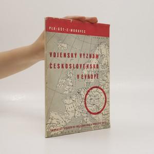 náhled knihy - Vojenský význam Československa v Evropě