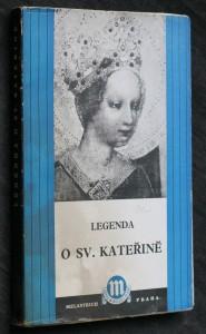 náhled knihy - Legenda o sv. Kateřině