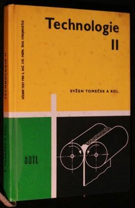 náhled knihy - Technologie II : učební text pro 2. roč. středních průmyslových škol strojnických