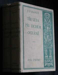 náhled knihy - Tři léta při Tichém oceáně. 1.-2. díl