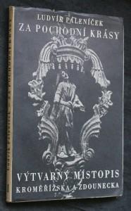 náhled knihy - Za pochodní krásy : výtvarný místopis Kroměřížska a Zdounecka