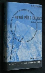 náhled knihy - První přes Everest : [Dobytí Himalají] : Expedice lady Houstonové na Mount Everest 1933