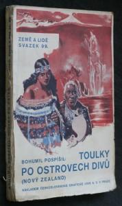 náhled knihy - Toulky po ostrovech divů : (Nový Zealand)