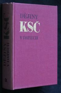 náhled knihy - Dějiny Komunistické strany Československa v datech
