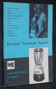 náhled knihy - Receptář Pragomixu Special