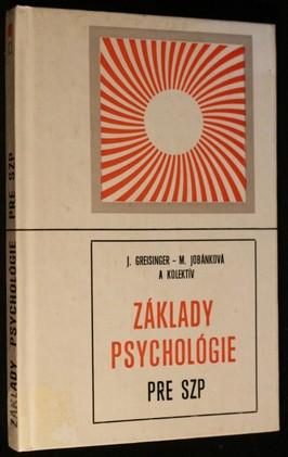 náhled knihy - Základy psychológie pre ZSP