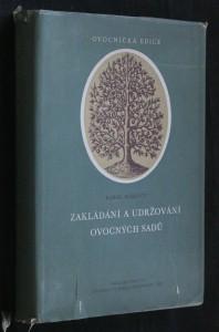náhled knihy - Zakládání a udržování ovocných sadů