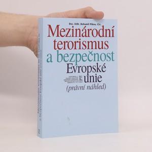 náhled knihy - Mezinárodní terorismus a bezpečnost Evropské unie (právní náhled)