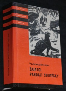 náhled knihy - Zajatci Pardálí soutěsky