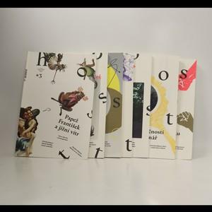 náhled knihy - Host - literární měsíčník (7 svazků)
