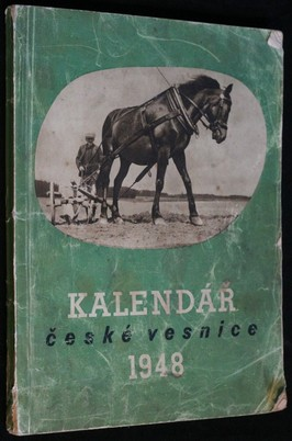 náhled knihy - Kalendář české vesnice na rok 1948
