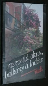náhled knihy - Rozkvetlá okna, balkóny a lodžie