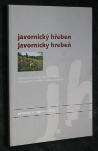 náhled knihy - Javornický hřeben/ Javornický hrebeň