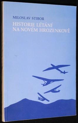 náhled knihy - Historie létání na Novém Hrozenkově