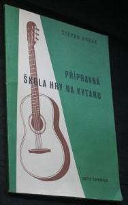 náhled knihy - Přípravná škola hry na kytaru Melodie-akordy : Písně s doprovodem sólové kytar