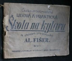 náhled knihy - Česko-srbochorvatská lidová a praktická škola na kytaru se zřetelem pro samouky