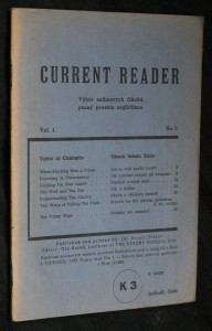 náhled knihy - Current reader, vol. 1, no. 7