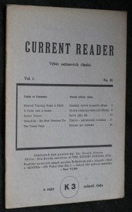 náhled knihy - Current reader, vol. 1, no. 10