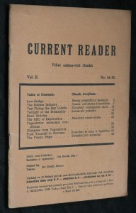 náhled knihy - Current reader, vol. 2, no. 14-15