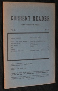 náhled knihy - Current reader, vol. 2, no. 13