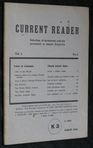 náhled knihy - Current reader, vol. 1, no. 6