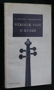 náhled knihy - Několik slov o hudbě