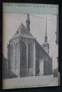 náhled knihy - Farní chrám sv. Jakuba v Brně