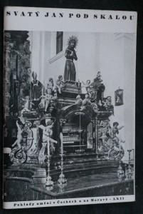 náhled knihy - Svatý Jan pod Skalou : bývalý klášter benediktinů s jeskyní sv. Ivana, prvního poustevníka v Čechách