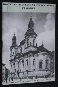 náhled knihy - Klášter a kostel sv. Mikuláše na Starém městě Pražském