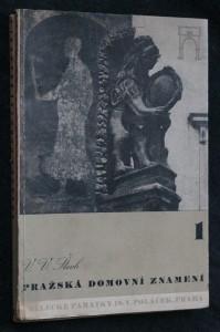 náhled knihy - Pražská domovní znamení = [Prager Hauszeichen.] 1.-2. díl