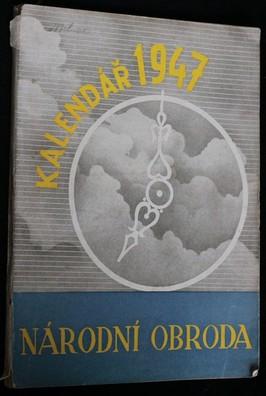 náhled knihy - Národní obroda : Kalendář moravského lidu na rok 1948