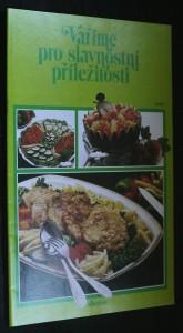 náhled knihy - Vaříme pro slavnostní příležitosti