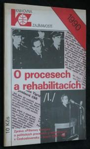 náhled knihy - O procesech a rehabilitacích : (zpráva