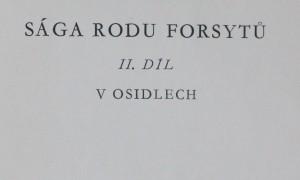 antikvární kniha V osidlech  [Trilogie Sága rodu Forsytů díl druhý], neuvedeno
