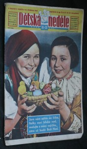 náhled knihy - Dětská neděle č. 33-34, roč. VI